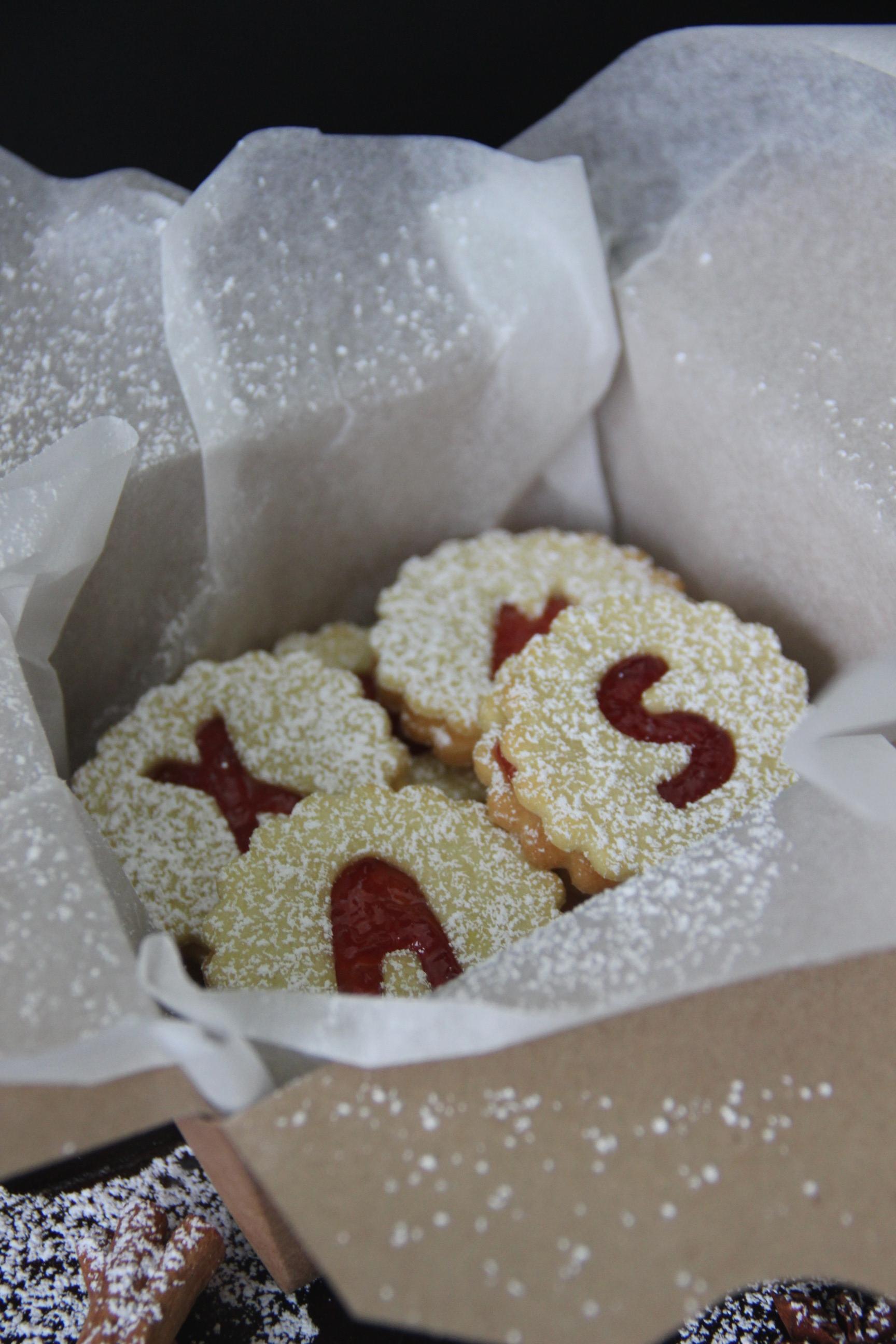 Bestes Spitzbuben Rezept Linzer Plätzchen Marmelade Backen Advent Weihnachten