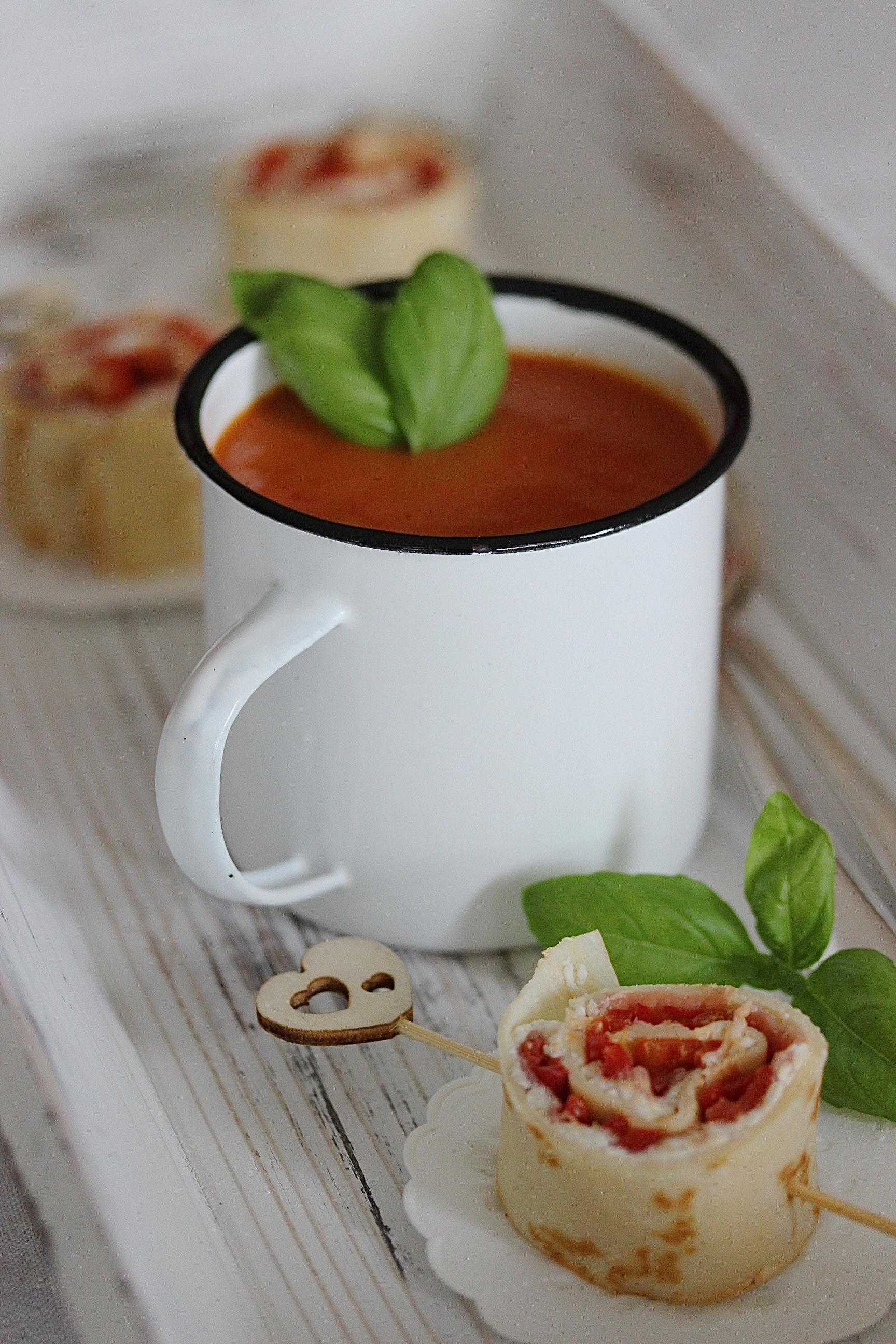 Paprika Creme Suppe Rezept zum Osterbrunch Ostern kochen #ostern #suppe | Emma´s Lieblingsstücke