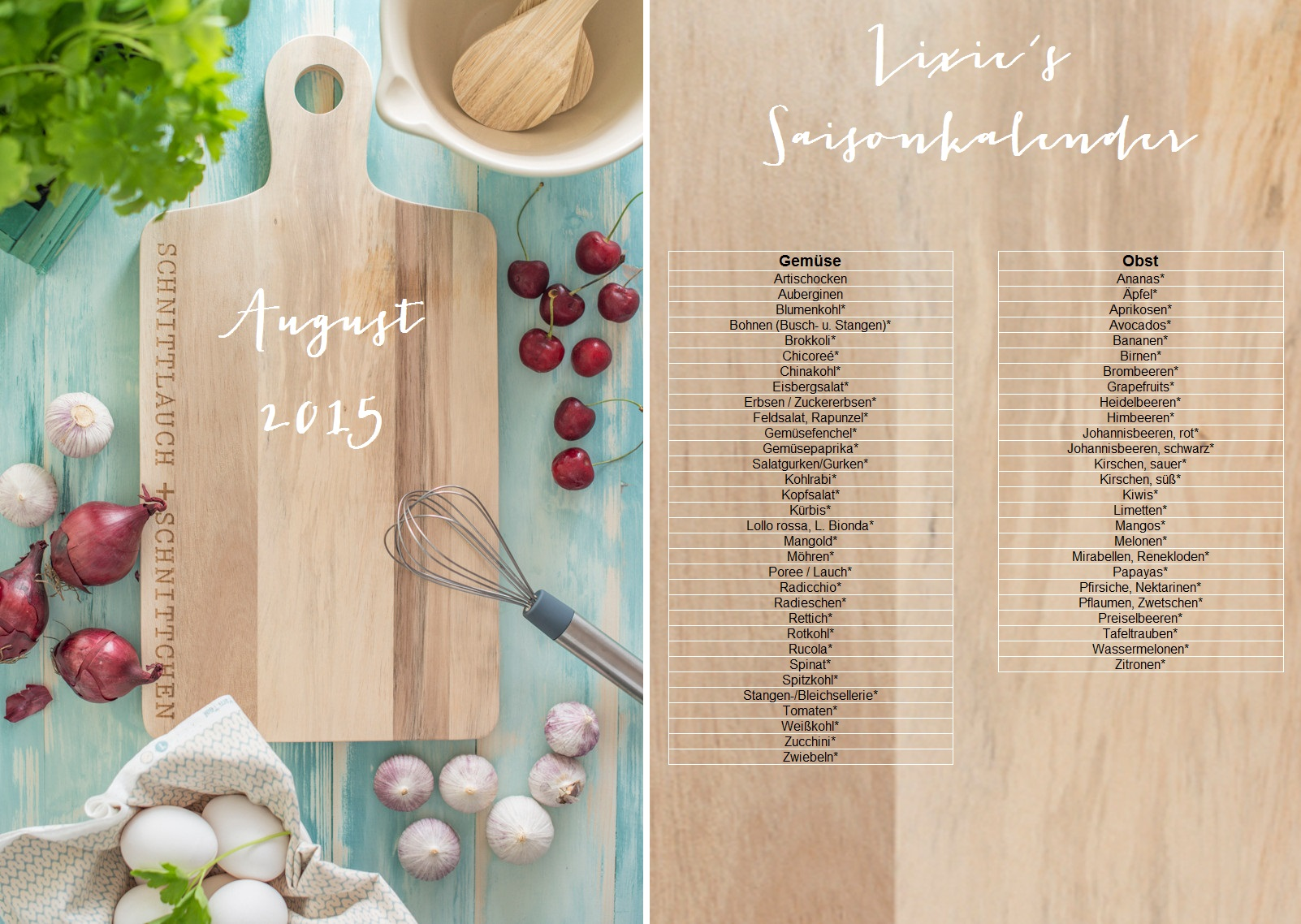 Tafel-Banner-Lixie´s-Saisonkalender-August-2015