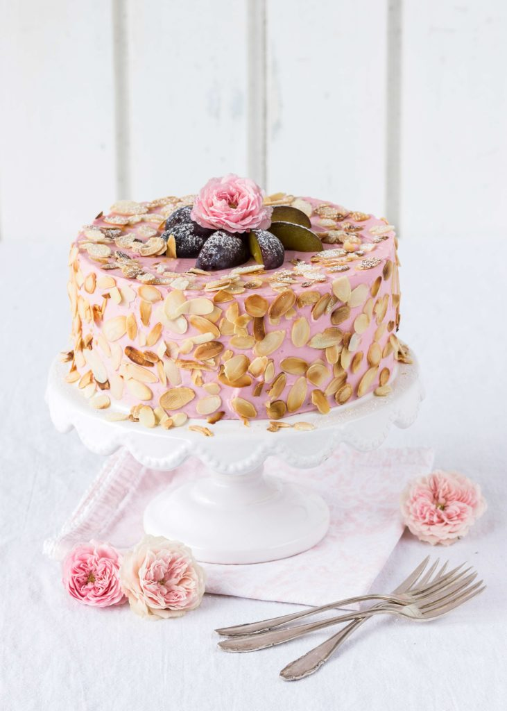 Rezept Mandel Zwetschgen Torte Kuchen Pflaumen Foodstyling Cake Foodblog Backblog backen
