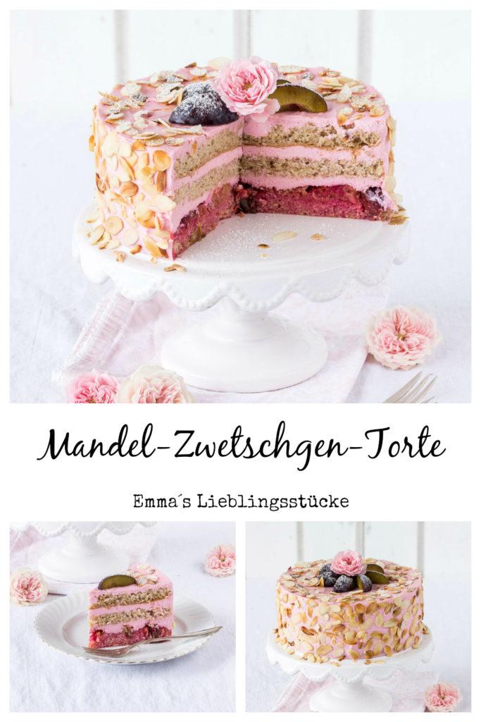 Rezept Mandel Zwetschgen Torte Kuchen Pflaumen Foodstyling Cake Foodblog Backblog