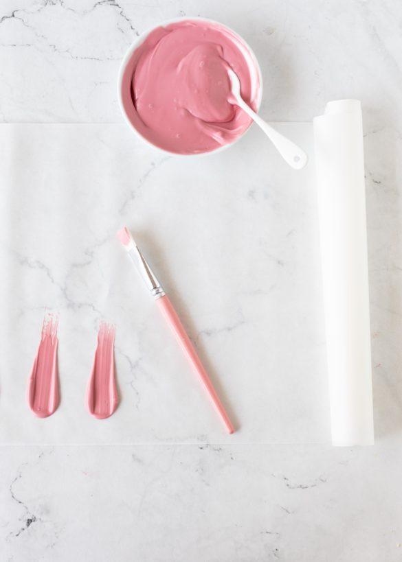Brushstrokes aus Candy Melts selber machen #brushstrokes | Emma´s Lieblingsstücke