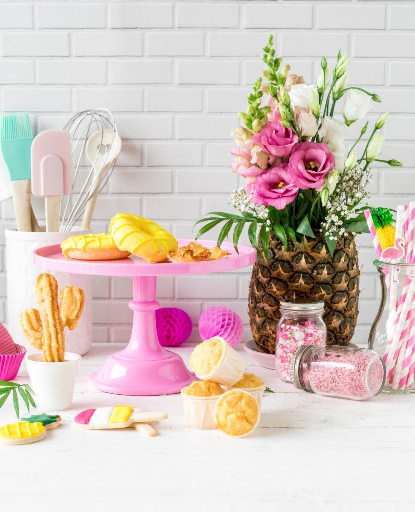Tropical Party Backbuch Sommer Ananas Wassermelone Ananas Kaktus #tropical #backbuch #backen #tropicalparty | Emma´s Lieblingsstücke