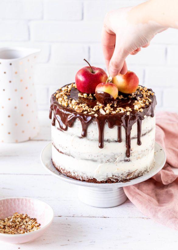 Tipps für den perfekt unperfekten Drip Drip Cake Schokolade Ganache Glasur Torte