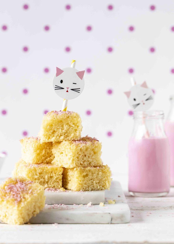 (Werbung) Glutenfreie Nussecken Rezept Backen Backbuch Kinderbackbuch #kinderrezepte #kinder #backen