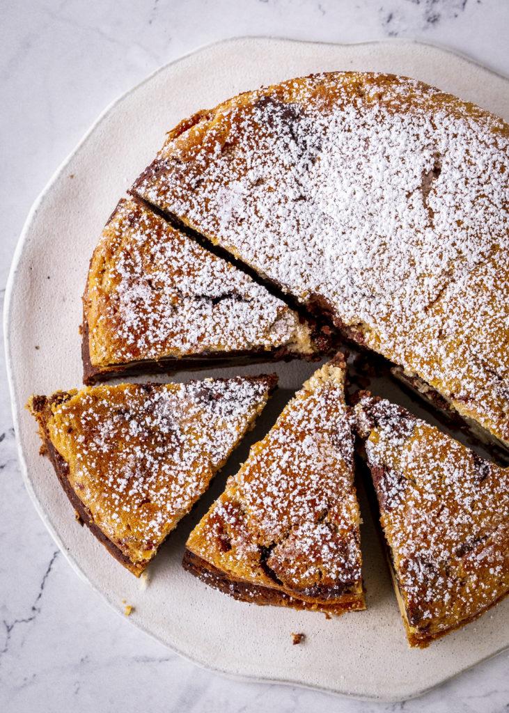 Marmor Käsekuchen Rezept Schokolade Schoko Cheesecake backen ohne Boden einfach lecker Marmorkuchen #marblecheesecake #rezept #backen #käsekuchen #cheesecake #marmorkuchen   Emma´s Lieblingsstücke