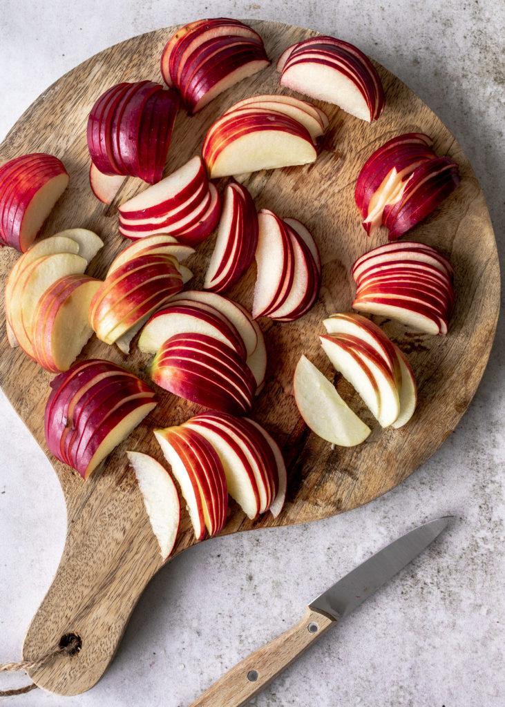Apfel Frangipane Tarte Rezept backen lecker einfach herbstlich Äpfel Mandeltafte #tarte #apple #frangipane #lecker Emma´s Lieblingsstücke