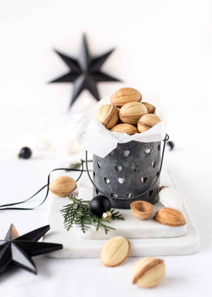 Oreschki-russiche Zaubernüsse backen. Weihnachten. Advent. Plätzchen backen. Emmas Lieblingsstücke