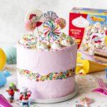 Benjamin Blümchen Fault Line Cake zur Einschulung oder Geburtstag dekorieren #faultlinecake #geburtstagstorte #torte #geburtstag Emmas Lieblingsstücke