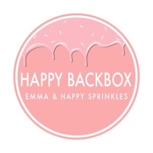 Happy Backbox - Die Abo Backbox mit tollen Rezepten á la Emmas Lieblingsstücke, spannendem Backzubehör und den coolsten Streuseln von Happy Sprinkles