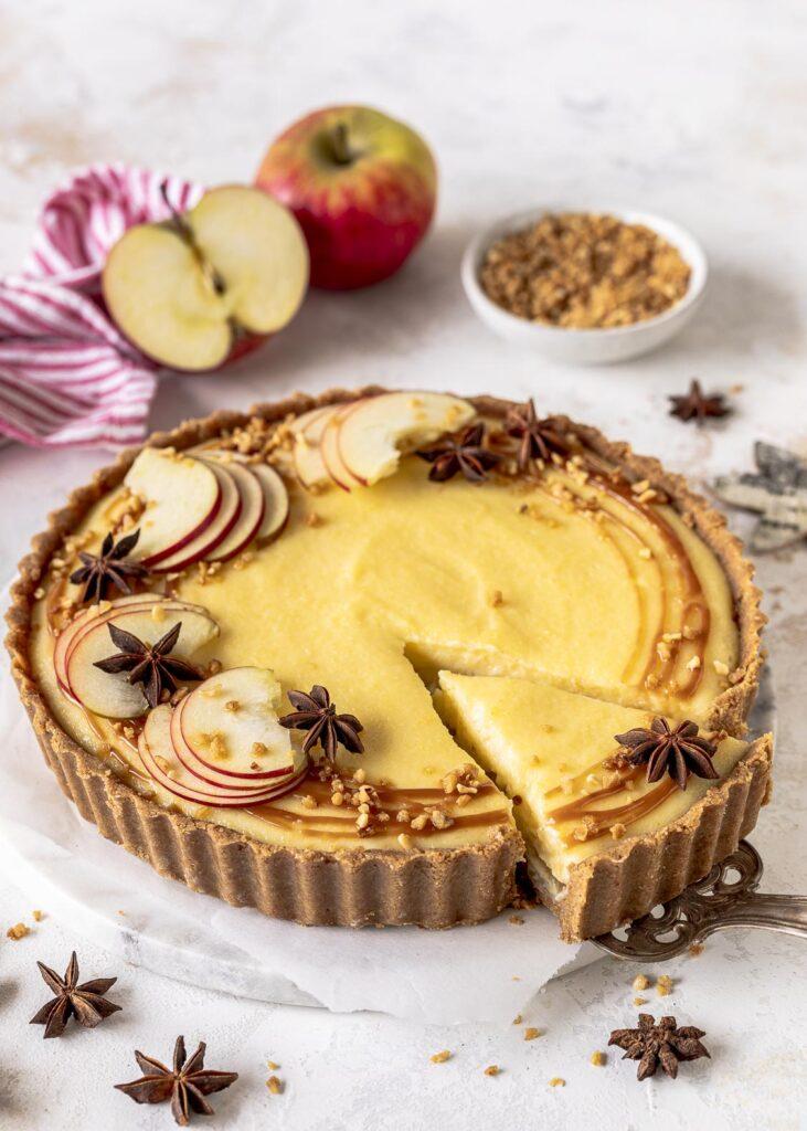 einfach zu machen mit Äpfeln herbstlich ohne backen mit Grieß-Pudding Soulfood cremig unglaublich lecker